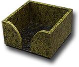 Подставка под блок бумаги 102х102х58