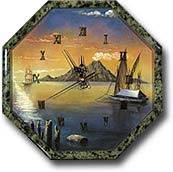 """Часы """"Восьмигранник №3,5"""" с рисунком (спец)"""