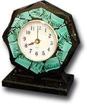 Часы настольные восьмигранные