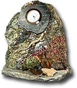 """Часы-скол """"Хозяйка Медной горы"""""""