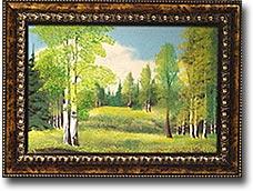 """Панно из дерева""""Багет""""с рисунком №4"""