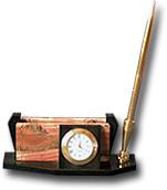 Визитница из яшмы и долерита с ручкой 150х45х55 мм