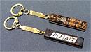 Брелок-палочка автомобильный 55х13х7 мм из обсидина