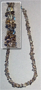Бусы Дымчатый кварц галтовка 50- 52 см