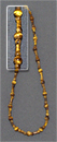 Бусы тигровый глаз, шар Д-4, Д-6 мм,столбик 3*5 мм, 56-58 см