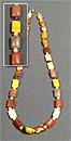 Бусы Яшма Мукаит Шар Д-4 мм+плоские прямоугольные 8*12 мм 49-51