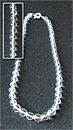 Бусы горный хрусталь шар Д-12-8 мм по убывающей 48-50 см