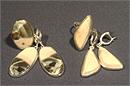 Гарнитур серьги и кольцо (яшма)