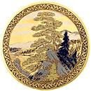 Медальон-магнит