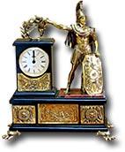 """Часы """"Цезарь"""" (яшма, долерит)"""