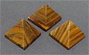 Пирамида, тигровый глаз h 30-35