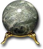 Шар из змеевика Южно-шабровского месторождения Д 51-65 мм