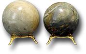 Шар из офиокальцита Д 66- 80 мм