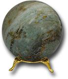 Шар из офиокальцита Д 66-80 мм