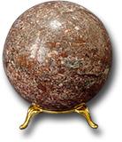 Шар из криноида Д 81- 90 мм