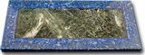Пластина из лазурита